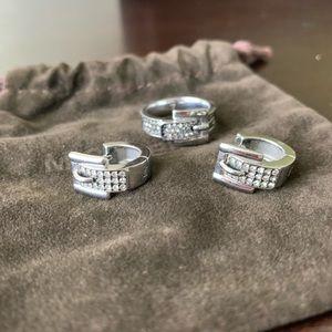 Michael Kors belt earrings and ring size 7